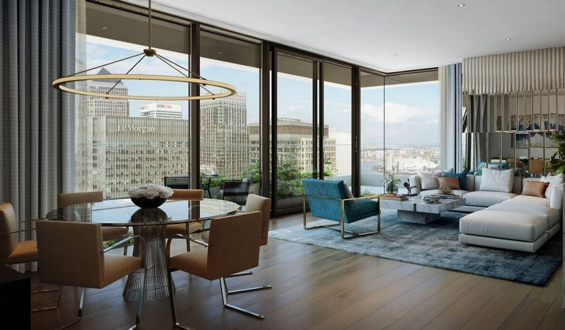 Wonderful 2 Bedroom To Buy In Wardian London Buy Or Rent A Flat In Canary Wharf